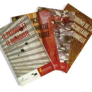 Algunos de los ejemplares que forman parte de la colección. Fuente: Éditions La Sahélienne