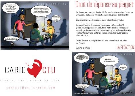 La polémica de las viñetas según caric-actu.com