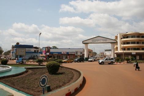Bangui Shopping districte - Flickr Afrika Force